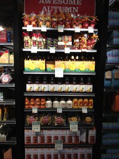 Another nice Fall end display featuring Fancy Pants seasonal cookies!