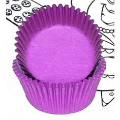Shop online for Golda's Kitchen Baking Cups - Solid - Purple - Standard at Golda's Kitchen; the leading Canadian on-line shopping site for quality bakeware, cookware, and cake decorating supplies. Cake Decorating Supplies, Baking Cups, Pie Dish, Cupcake, Tools, Purple, Mini, Kitchen, Desserts