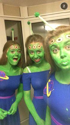 Toy story aliens fancy dress for Halloween  sc 1 st  Pinterest & DIY spaceman costume Kids fancy dress costume ideas | Mouths of ...