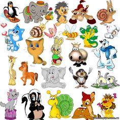клипарт лесные животные - Поиск в Google