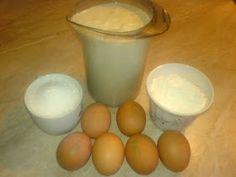 Ingrediente crema cremsnit Glass Of Milk, Breakfast, Desserts, Food, Mascarpone, Morning Coffee, Tailgate Desserts, Deserts, Meals