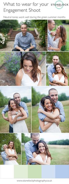How to prepare for your Engagement Photo Shoot Complimentary Colors, Summer Months, Neutral Tones, Engagement Shoots, Photo Shoot, What To Wear, Backdrops, Wedding Photography, Colour