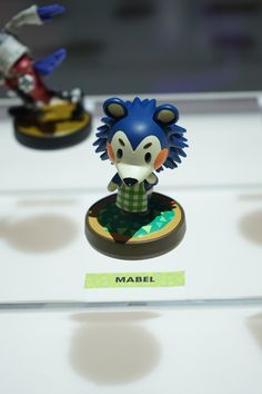 d91a0fa8b Super Mario Maker, Skylanders, Animal Crossing, and Yoshi amiibos are all  on display in Nintendo's booth.
