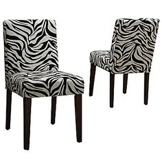 black parsons chair leather wingback with nailhead trim 42 best parson s chairs images upholstered another zebra jcpenney dining furniture cool room