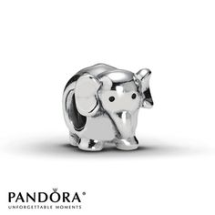 Yesssssss! Been looking for an elephant charm! #thePoshLife  Pandora Elephant Charm Sterling Silver