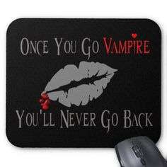 Vampire Love | Vampire Love Mouse Mats from Zazzle.com