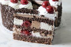 Ízek és élmények: Feketeerdő torta Naan, Vanilla Cake, Tiramisu, Food And Drink, Ethnic Recipes, Recipes, Cook, Tiramisu Cake