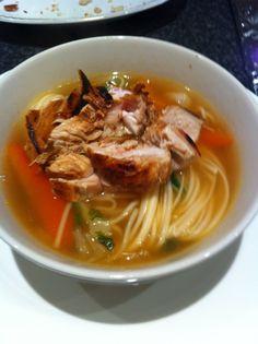Noodle ramen soup with recipe