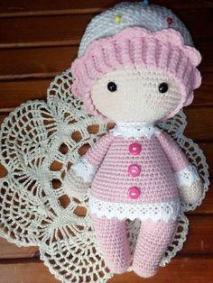 Схема крючком вязаной куклы