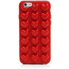 Marc Jacobs Jelly Heart iPhone 6 Case found on Polyvore featuring accessories, tech accessories, phone cases, cases, phone, cambridge red and marc jacobs