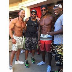 Tyson Beckford....and friends