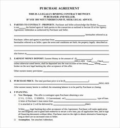 Estate Sale Contract Template | Shooters Journal