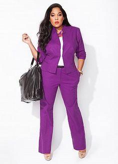 Ashley Stewart. Love the purple