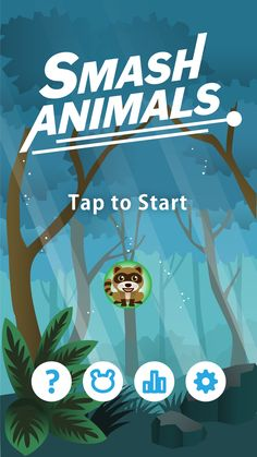 Smash Animals Fun Animal Game.Android game.GooglePlay Store Free Game. Smash Animals is an ultra-exiting fun animal game with amazingly exiting illustration and gameplay. Made with Unity,Game Design,Kids Game