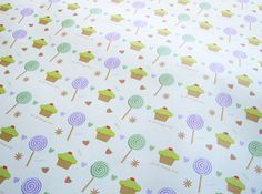 Lollipops and Cupcakes #wrapping paper - good enough to eat! http://www.alocalprinter.co.uk/products/