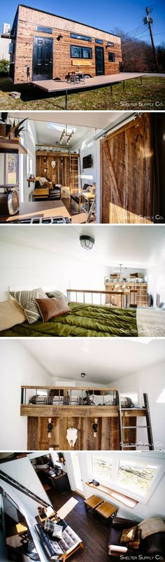 ... Living Space In La Mirada, California. See More. The Adventure Model  Tiny House From Shelter Supply Co.