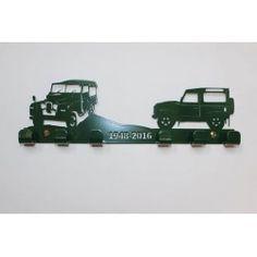 Commemorative Land Rover  Key Rack