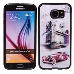 London Bridge 3D Hologram TPU phone case skin for Samsung Galaxy S6