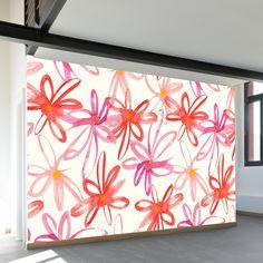 Tickled Pink | Wall Mural | WallsNeedLove