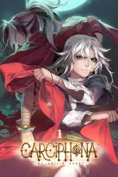 Cover illustration version 3 for volume 1 of Carciphona.