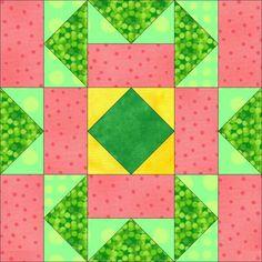 pink limonade   AccuQuilt - Win the Dream Quilt Block Contest