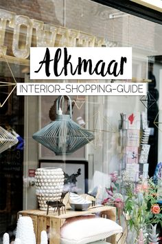 Alkmaar: interior shopping guide - Vintage shopping, indoor plants & Co – these are the best interior shops in Alkmaar (Netherlands) - Medan, Shopping Interior, Travel Alone, Asia Travel, Tips For Traveling Alone, Baby Care Tips, Inside Design, Packing List For Travel, Shop Interiors