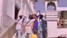 Violent clashes at Golden Temple on Op Bluestar anniversary