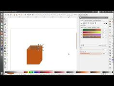 ▶Not bad, but no sound - Simple Box Design In Inkscape For Beginner - YouTube