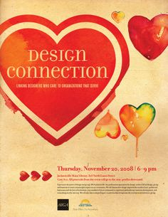 AIGA Design Connection by Karen Kurycki, via Behance