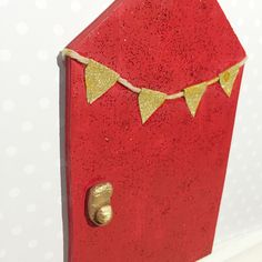 A personal favourite from my Etsy shop https://www.etsy.com/au/listing/468116783/fairy-door-red-fairy-door-garden-elf