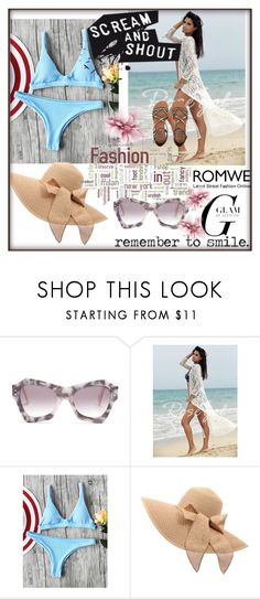 """""""romwe"""" by melisa-484 ❤ liked on Polyvore featuring Roksanda and Billabong"""