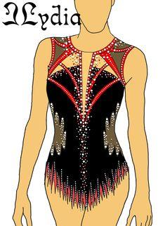 Rhythmic Gymnastics Costumes, Gymnastics Leotards, Dance Uniforms, Uniform Ideas, Skating Dresses, Roller Skating, Dance Outfits, Costume Ideas, Skate
