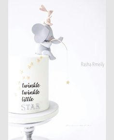 Twinkle twinkle Little Star elephant cake
