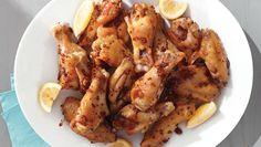 Up your Super Bowl hosting game by serving these flavorful chicken wings, which are also sure to please any younger palates. Oven Roasted Chicken Wings, Maple Dijon Chicken, Lime Chicken, Glazed Chicken, Sesame Chicken, Chicken Drumsticks, Orange Chicken, Chicken Thighs, Fried Chicken