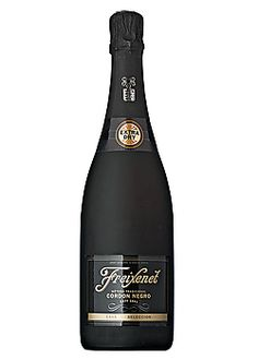 """Total Wine: Freixenet Cordon Negro Extra Dry, actually less """"dry"""" than the brut version"""