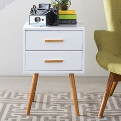 Go catch these awe-inspiring 7 small side table ideas to counterbalance the face of both your modern living room and bedchamber. The recommendations are precisely based on the viewpoint of the interior design experts. Living Furniture, Bedroom Furniture, Modern Furniture, Living Room Lounge, Living Room Modern, Living Room Update, End Tables With Storage, Drawer Handles, All Modern