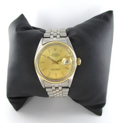 Rolex datejust 1967 Steel and Gold Dial by MorningstarsJewelers, $3950.00