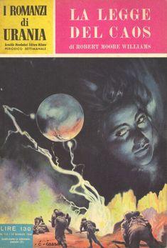 113  LA LEGGE DEL CAOS 12/1/1956  THE CHAOS FIGHTERS  Copertina di  C. Caesar   ROBERT MOORE WILLIAMS