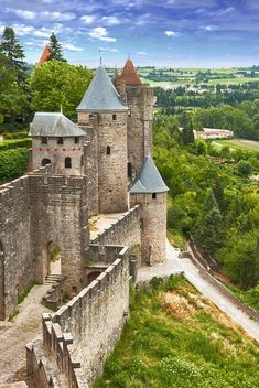Chateau Medieval, Medieval Town, Medieval Castle, Carcassonne France, Canal Du Midi, Gallery Wall Layout, French Summer, Palace Of Versailles, France Travel