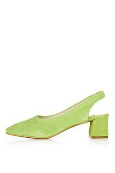 JENNA Slingback Shoes