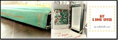 Turn an old book into a cover for your nook or kindle.  great idea!