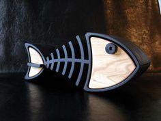 wood fish | wooden fish