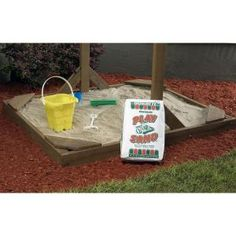 Finish off your beach-themed space and give it a natural look with the selection of this extra ordinary Quikrete Play Sand. Ideal for any budget range. Childrens Play Sand, Backyard Swing Sets, Sand Bag, All Things Fabulous, Fine Sand, 4th Birthday Parties, 5th Birthday, Ace Hardware, Lowes Home Improvements
