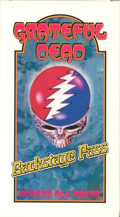 Grateful Dead 'Backstage Pass' Video, Front