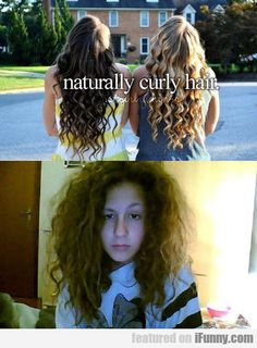 "There is nothing ""natural"" about that top picture... this picture has me laughing so hard. Truth!"