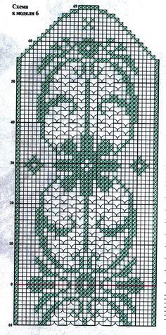 Крючок. Салфетка прямоугольная ажурная с декоративным цветочным орнаментом в технике филейное кружево