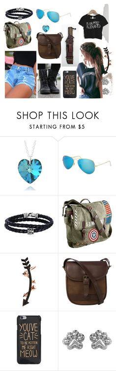 """""""#oc.r_anyone else awake"""" by ronnie-555 on Polyvore featuring Love Nail Tree, Ray-Ban, Phillip Gavriel, Marvel, Wild Hearts, DUBARRY and ASPCA"""