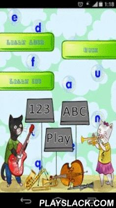 ABCD Pre Primary  Android App - playslack.com , Pre-primary kids can learn ABCD, and 123 numbers very easily by writing and listening numbers and alphabet, and kids also enjoys to watch and learn by watching videos of complete ABCD and 123 numbers.Kids will enjoying app by listening sound on pressing of alphabet and numbers. Application was made in such a way that kids can learn ABCD and numbers 1234 very easily and very faster. Videos in this app was made in such a way that kids can…