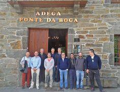 Clientes de Estrella Galicia venidos de Ribeira visitaron las instalaciones de Custom Drinks y, por supuesto, nuestra bodega. Fue el pasado día 18 de junio.