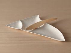 WASARA é elegante e sustentável, talheres compostáveis | WASARA